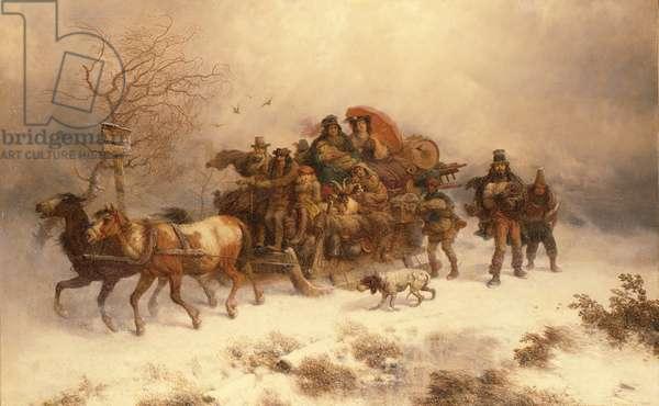 The Homeward Journey, 19th century