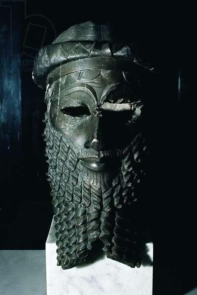 Head of Sargon I (c.2334-2279 BC) 2334-2200 BC (copper) (see also 187024)