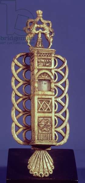 Mezuzah (Doorpost) Case (bone)