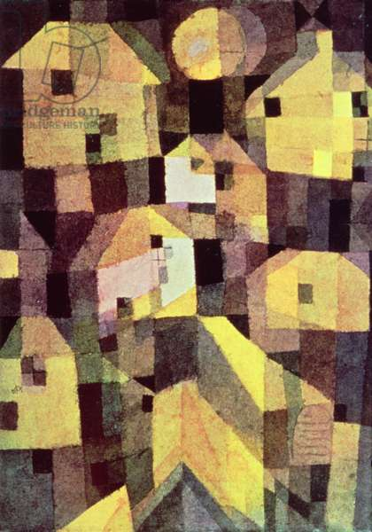 Abstract Composition of Houses