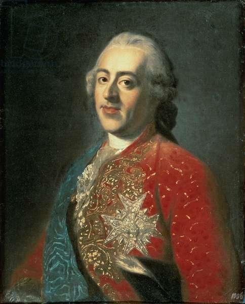 Louis XV (1710-74) (oil on canvas)