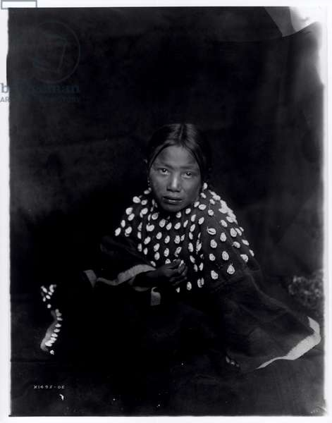 The Sioux child, c.1905 (b/w photo)