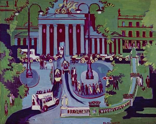 The Brandenburg Gate, Berlin, 1929 (oil on canvas)