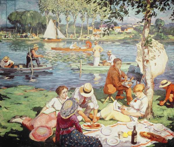 Lunch on the Banks of the Seine, 1914