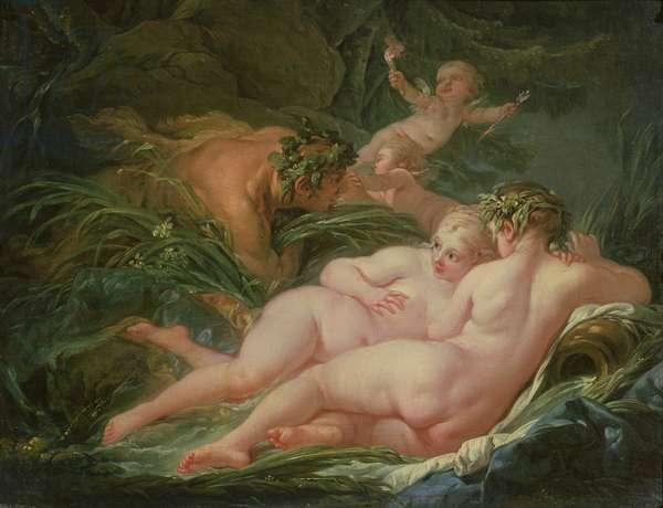 Pan and Syrinx, 1759