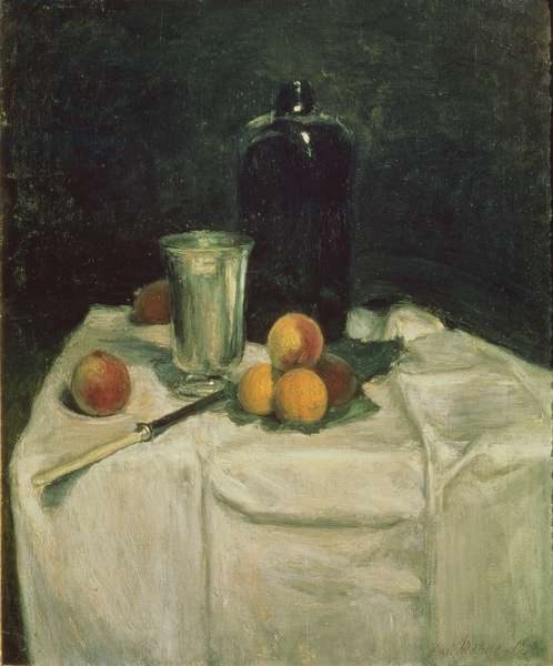 The Bottle of Schiedam, 1896 (oil on canvas)