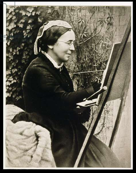 Marianne North (sepia photo)