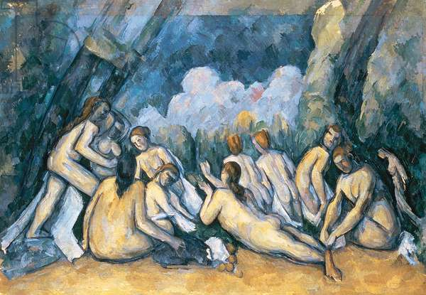 The Large Bathers, c.1900-05 (oil on canvas)