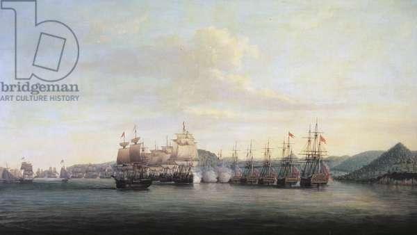 Barrington's Action at Santa Lucia, 1778