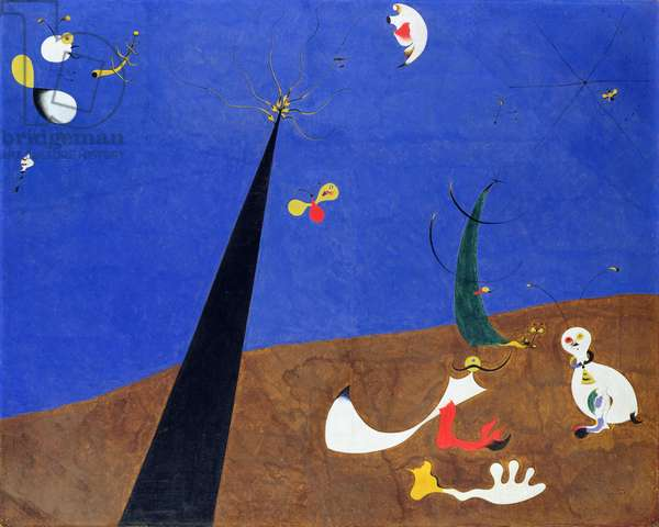 Dialogue of Insects, 1924-25 (oil on canvas)