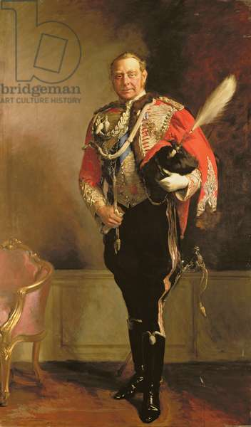 Portrait of Hugh Cecil Lowther, 5th Earl of Lonsdale, 1916