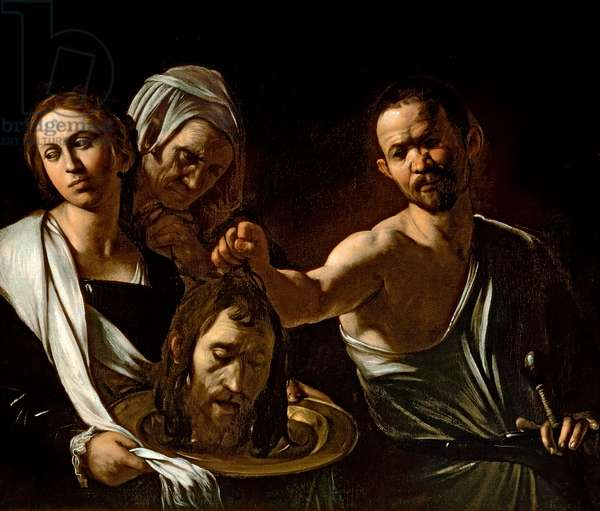 Salome Receives the Head of Saint John the Baptist, 1607-10 (oil & tempera on canvas)