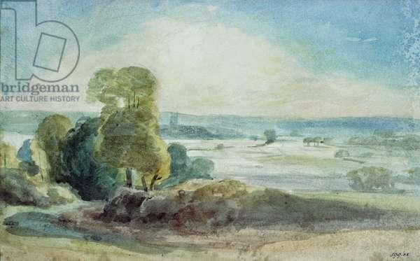Dedham Vale, 1805 (w/c)