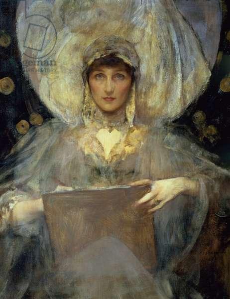 Portrait of Violet, Duchess of Rutland, 1896 (oil on canvas)