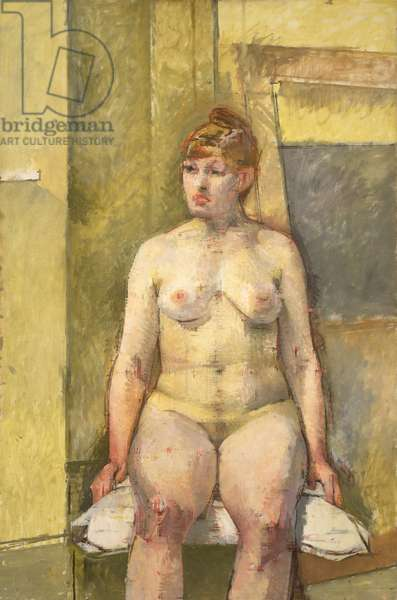 Seated Nude, 1960 (oil on canvas)
