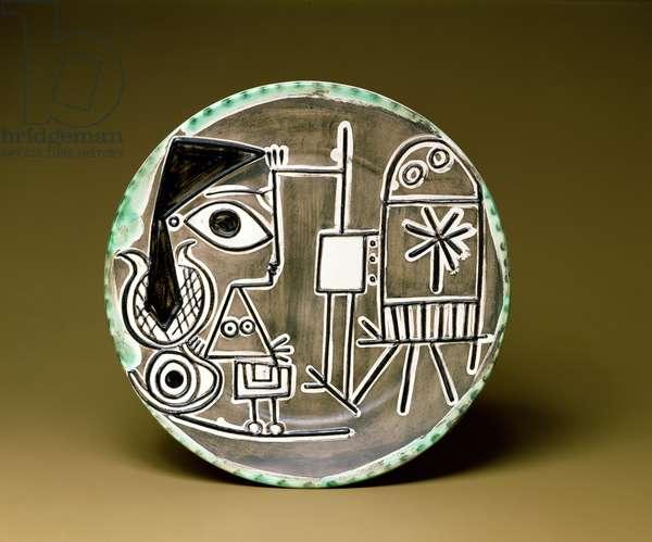 """""""The Studio Corner"""" dish (ceramic)"""