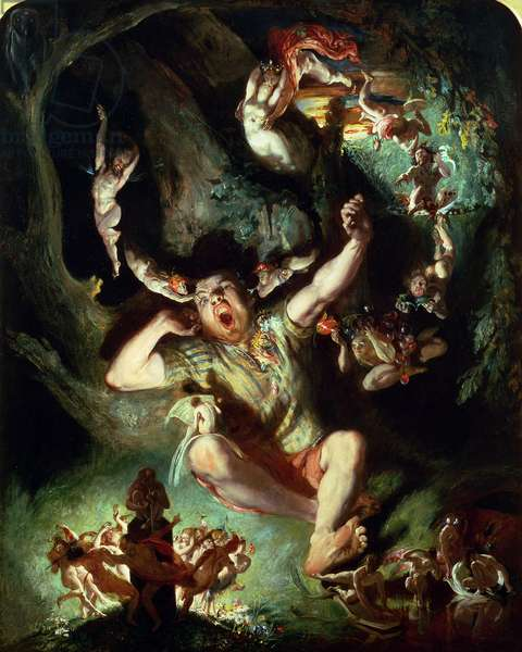 The Disenchantment of Bottom, from 'A Midsummer Night's Dream' Act IV Scene I, by William Shakespeare (1564-1616) (oil on canvas)