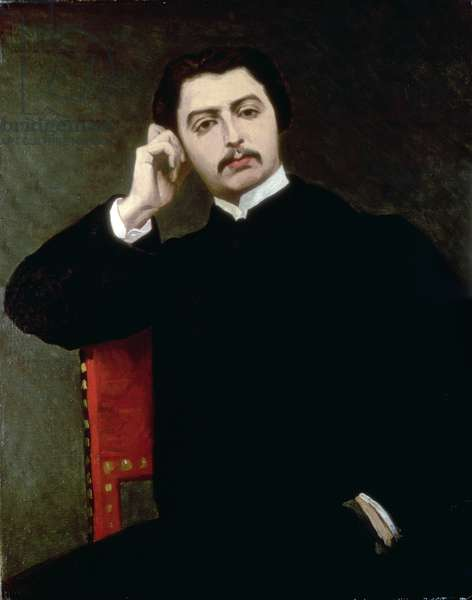 Portrait of Marcel Proust, 1897 (oil on canvas)