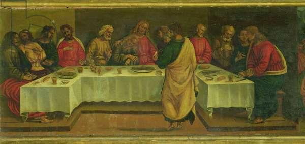 Predella Panel: Last Supper