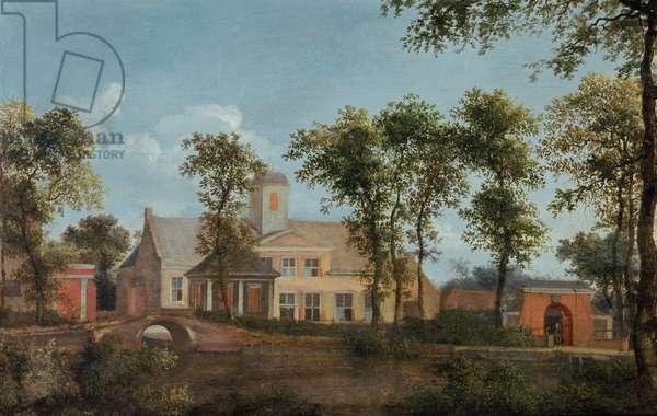 Goudesteyn Castle on the Vecht, 17th century