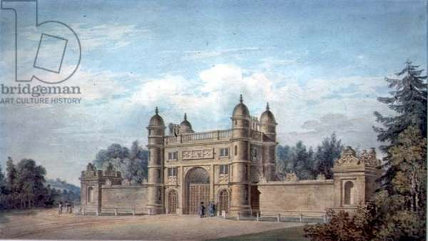 The Lodge, Wollaton Hall, Notthinghamshire