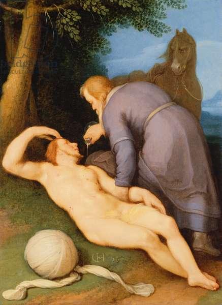The Good Samaritan, 1627 (panel)