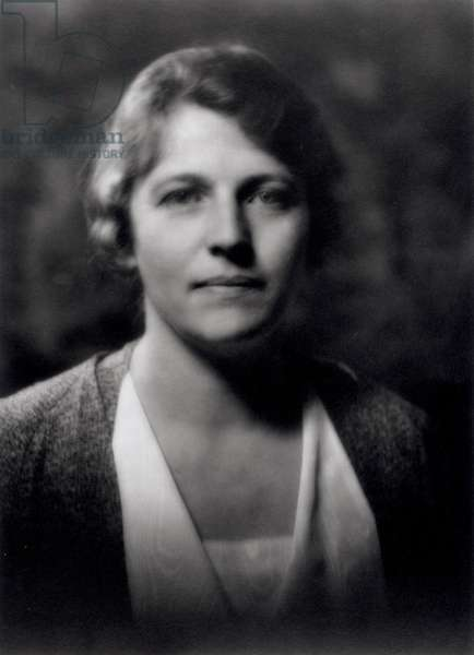Pearl Buck (1892-1973) (b&w photo)