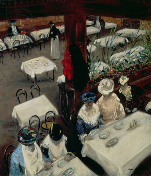 In a Cafe, 1905 (oil on canvas)