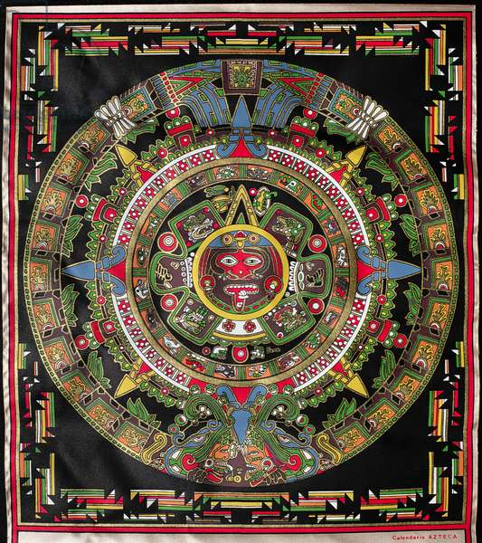 Aztec Calendar (modern copy)