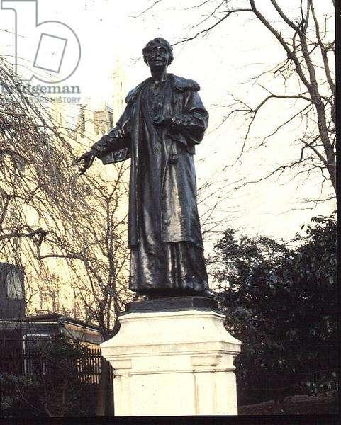 Statue of Emmeline Pankhurst (1857-1928) 1930 (bronze)
