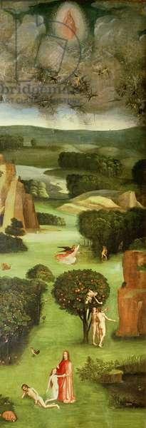 The Last Judgement (Altarpiece): Interior of Left Wing