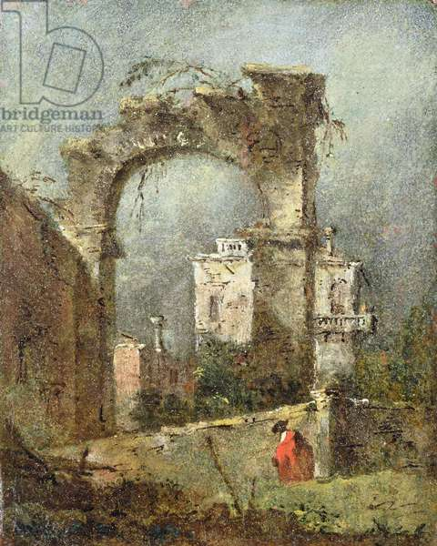 A Capriccio - A Ruined Arch, 18th cenury