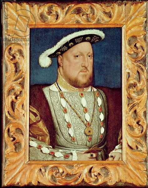 King Henry VIII (oil on oak panel)
