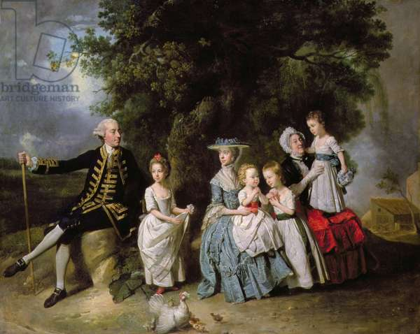 Group Portrait of the Colmore Family
