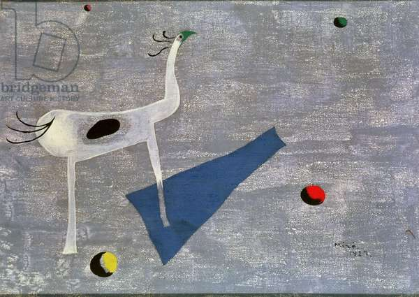 The Circus Horse, 1927 (oil on canvas)