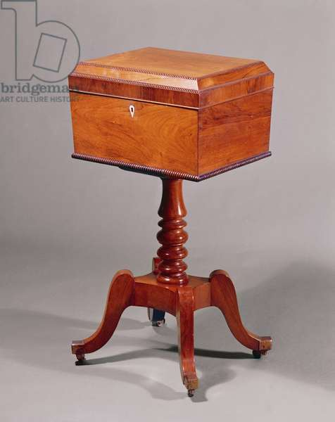 Rosewood Teapoy, c.1830