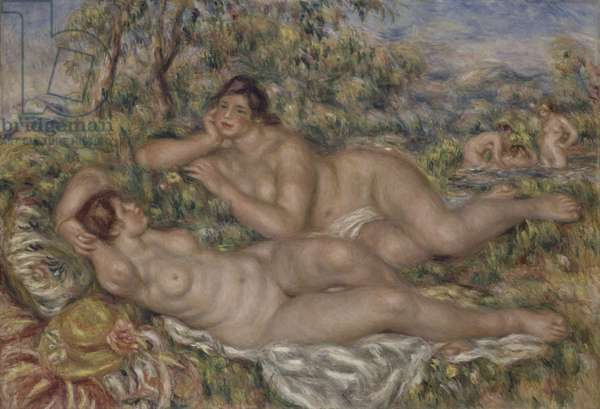 The Bathers, c.1918-19 (oil on canvas)