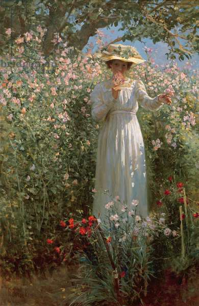 Among the Flowers