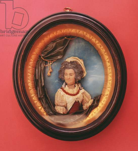 Miniature portrait of Mary Berry (1763-1852)