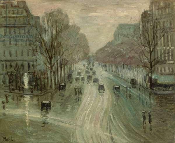 Paris under Snow, 1919