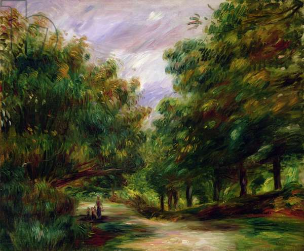 The road near Cagnes, 1905
