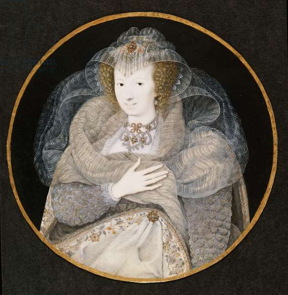 Portrait of Frances, Countess Howard