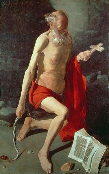 St. Jerome, c.1620 (oil on canvas)