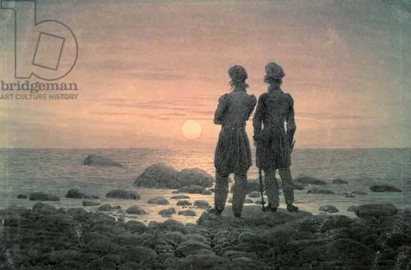 Two Men by The Sea