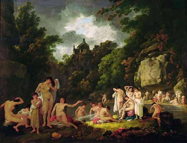 The Mermaids' Haunt, 1804 (oil on panel)