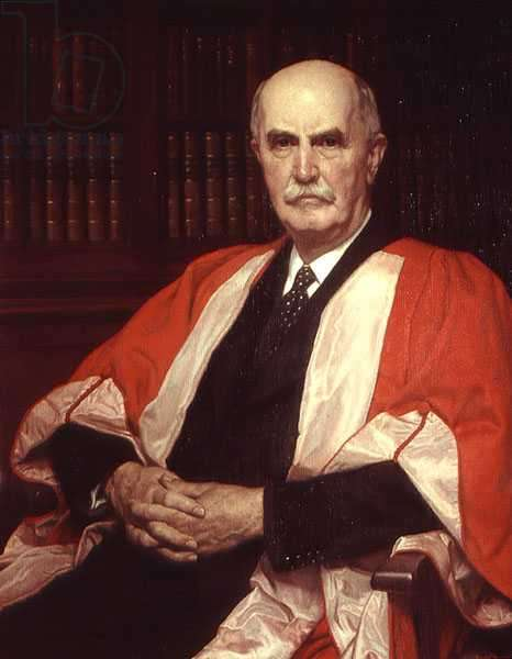 Portrait of Sir William Henry Bragg (1862-1942)