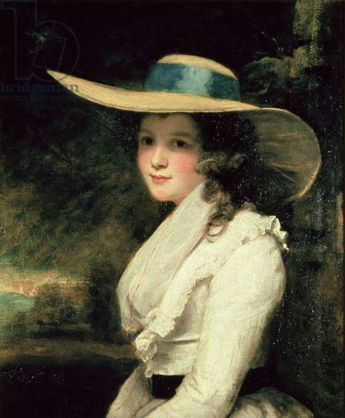 Lavinia Bingham, 2nd Countess Spencer, 1785-86 (oil on canvas)