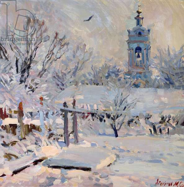 First Snow, 1989 (oil on canvas)