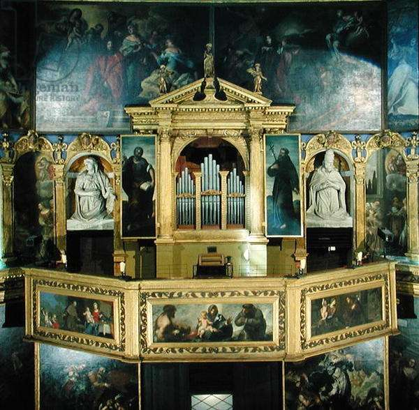 View of the organ, 1615 (photo)
