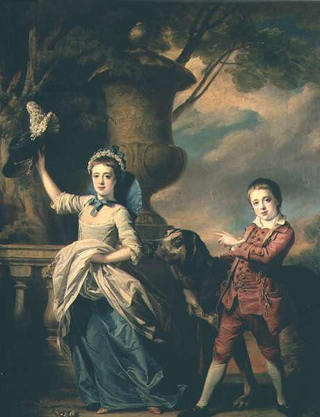 The Children of Sir Edward and Dame Ann Astley, 1767